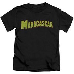Madagascar - Little Boys Logo T-Shirt