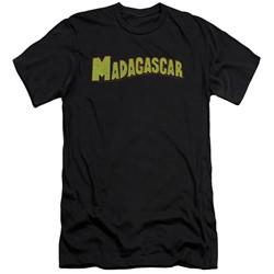 Madagascar - Mens Logo Slim Fit T-Shirt