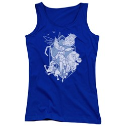 Rise Of The Guardians - Juniors Coming For You Tank Top