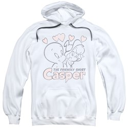 Casper - Mens Hearts Pullover Hoodie