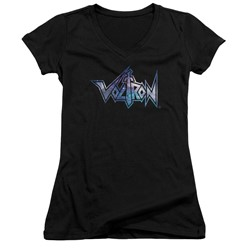 Masters Of The Universe - Womens Space Logo V-Neck T-Shirt