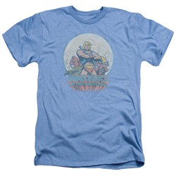 Masters Of The Universe - Mens He Man And Crew Heather T-Shirt