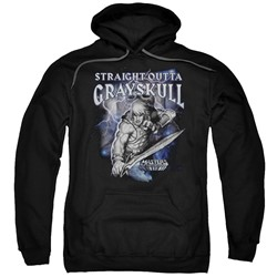 Masters Of The Universe - Mens Straight Outta Grayskull Pullover Hoodie