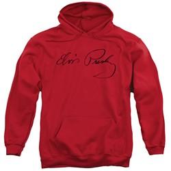 Elvis Presley - Mens Signature Sketch Pullover Hoodie