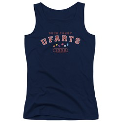 Farts Candy - Juniors Fart University Tank Top