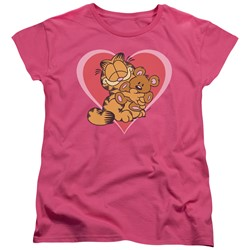 Garfield - Womens Cute N'Cuddly T-Shirt