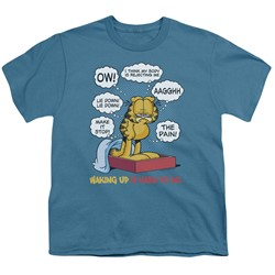 Garfield - Big Boys Waking Up Is Hard To Do T-Shirt
