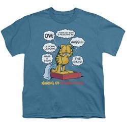 Garfield - Big Boys Waking Up Is Hard To Do T-Shirt