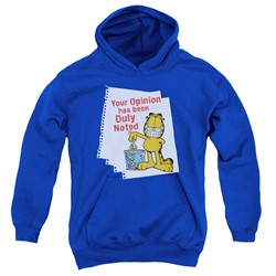 Garfield - Youth Duly Noted Pullover Hoodie