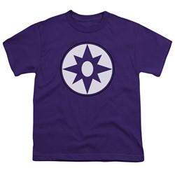 Green Lantern - Big Boys Star Sapphire Logo T-Shirt