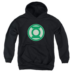 Green Lantern - Youth Green Symbol Pullover Hoodie
