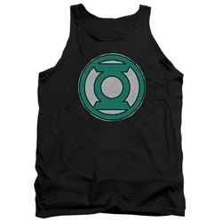 Green Lantern - Mens Hand Me Down Tank Top