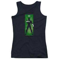 Dc - Juniors Green Lantern Block Tank Top