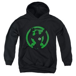 Dc - Youth Gl Symbol Knockout Pullover Hoodie