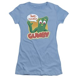 Gumby - Womens Fun & Flexible T-Shirt