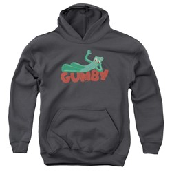 Gumby - Youth On Logo Pullover Hoodie