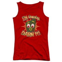 Gumby - Juniors Darn It Tank Top