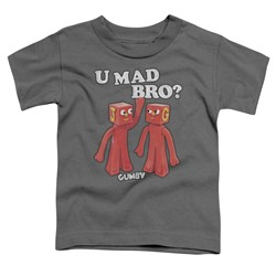 Gumby - Toddlers U Mad Bro T-Shirt