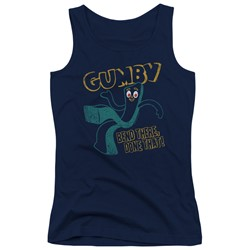 Gumby - Juniors Bend There Tank Top