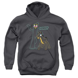 Gumby - Youth Outlines Pullover Hoodie