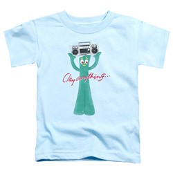 Gumby - Toddlers Clay Anything T-Shirt