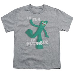 Gumby - Big Boys Flex T-Shirt