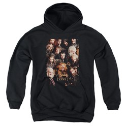 The Hobbit - Youth Dwarves Poster Pullover Hoodie