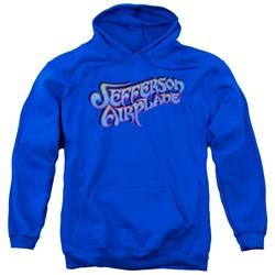 Jefferson Airplane - Mens Gradient Logo Pullover Hoodie