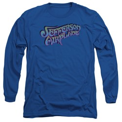 Jefferson Airplane - Mens Gradient Logo Long Sleeve T-Shirt