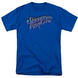 Jefferson Airplane - Mens Gradient Logo T-Shirt