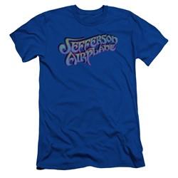 Jefferson Airplane - Mens Gradient Logo Slim Fit T-Shirt