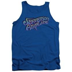 Jefferson Airplane - Mens Gradient Logo Tank Top