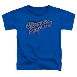 Jefferson Airplane - Toddlers Gradient Logo T-Shirt