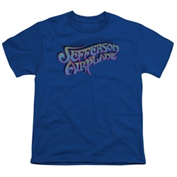 Jefferson Airplane - Big Boys Gradient Logo T-Shirt