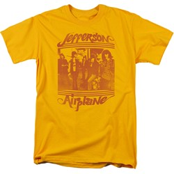 Jefferson Airplane - Mens Group Photo T-Shirt