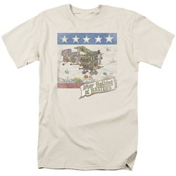 Jefferson Airplane - Mens Baxter's Cover T-Shirt
