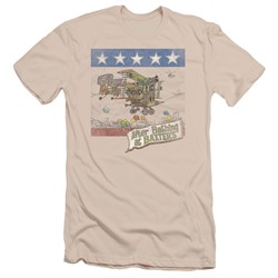Jefferson Airplane - Mens Baxter's Cover Slim Fit T-Shirt