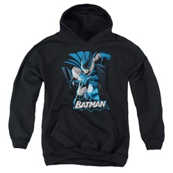 Justice League - Youth Batman Blue & Gray Pullover Hoodie