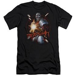 Justice League - Mens Deadshot Slim Fit T-Shirt