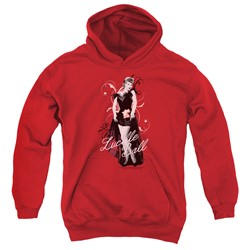 Lucille Ball - Youth Signature Look Pullover Hoodie