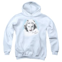 Lucille Ball - Youth In Blue Pullover Hoodie