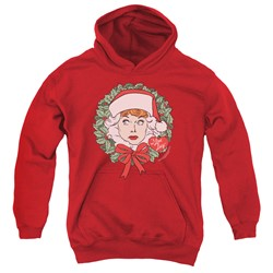 I Love Lucy - Youth Wreath Pullover Hoodie
