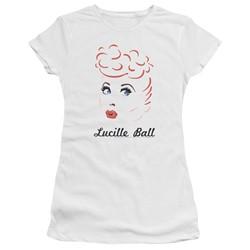 Lucille Ball - Womens Drawing T-Shirt