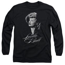 Lucille Ball - Mens Pretty Gaze Long Sleeve T-Shirt