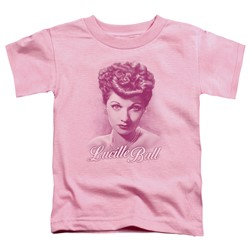 Lucille Ball - Toddlers Pearls T-Shirt