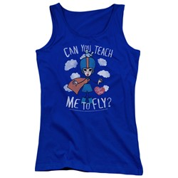 I Love Lucy - Juniors Fly Tank Top