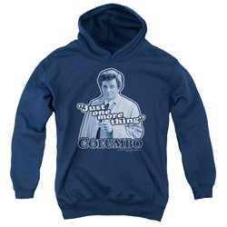 Columbo - Youth Just One More Thing Pullover Hoodie