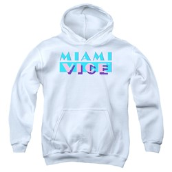 Miami Vice - Youth Logo Pullover Hoodie