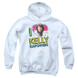 Saved By The Bell - Youth I Love Kelly Pullover Hoodie