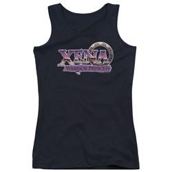 Xena: Warrior Princess - Juniors Logo Tank Top